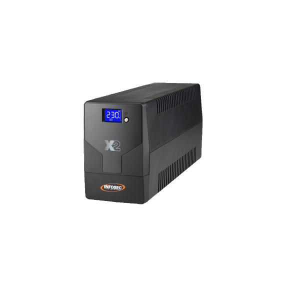 Infosec X2 LCD TOUCH 1000 FR/SCHUKO